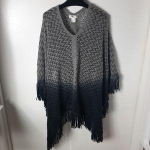 Ace fashion poncho sweater